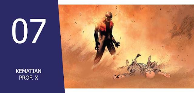 kisah Kematian Superhero Marvel,