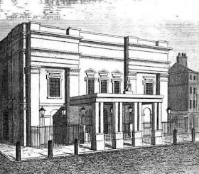 Drury Lane Theatre from Leigh's New Picture of London (1827)
