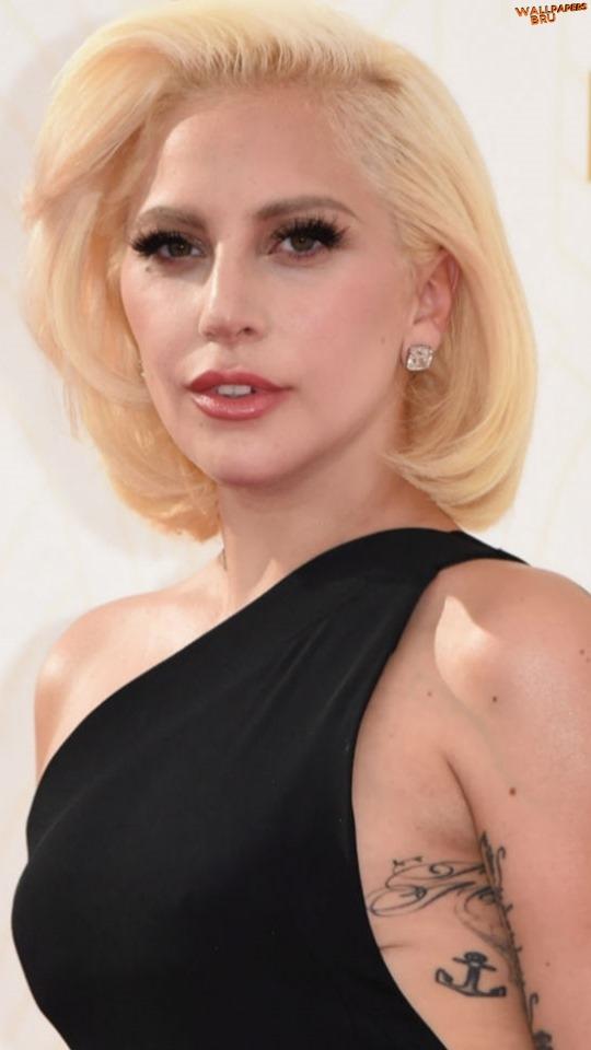 Mujer linda Lady Gaga Fondo de Pantalla 540x960
