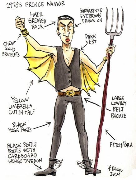 My Half Assed Cosplay Ideas by Patrick Dean