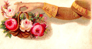 label rose digital download image