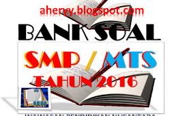 Bank Soal Latihan UN SMP/MTS Tahun 2018 | Wawasan Pendidikan Nusantara