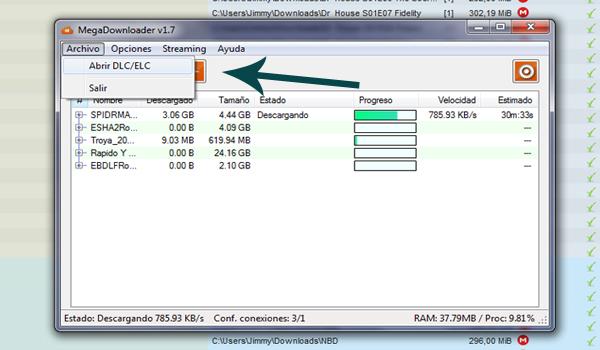 Resultado de imagen para enlace no valido error Megadownloader