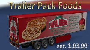 Foods Trailers Pack v 1.03.00