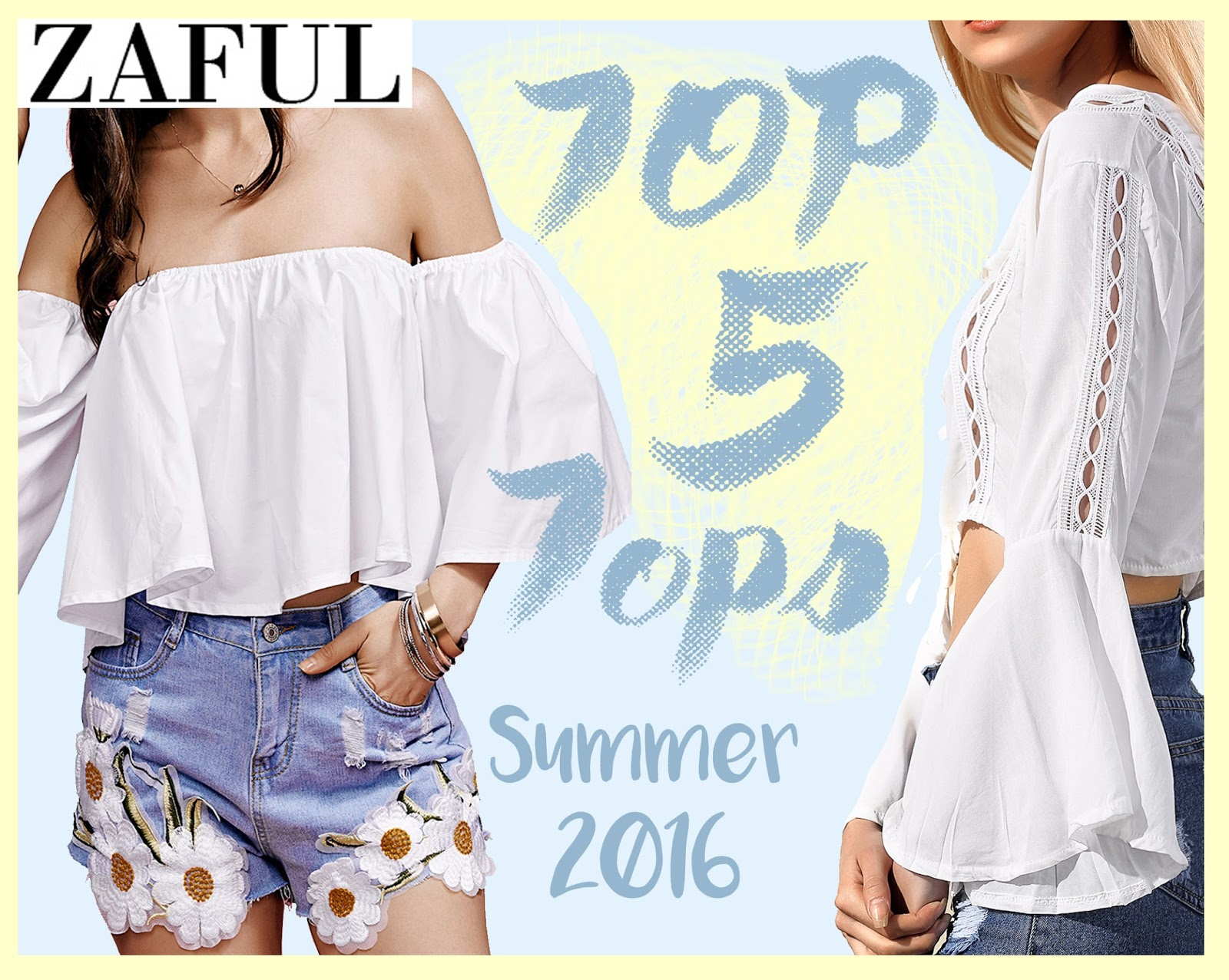 Top 5 Tops: Summer 2016 #Wishlist