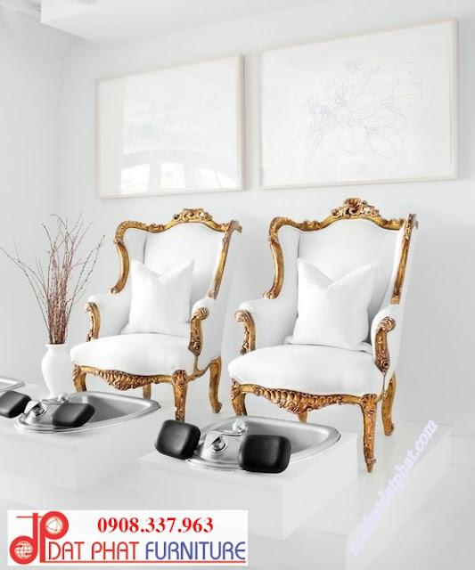 ghế nail cổ điển, ghế làm nail cổ điển, ghế nail cổ điển đẹp, ghế làm nail, ghế nail, ghế làm nail giá rẻ, thiết kế trang trí tiệm Nail,