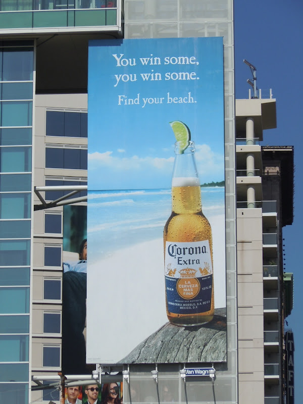 Corona Win Some billboard