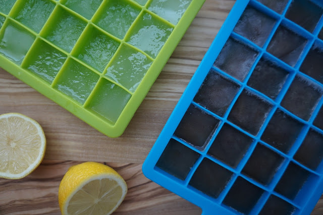 Making lemonade and tea ice cubes for summer with Minute Maid and FUZE