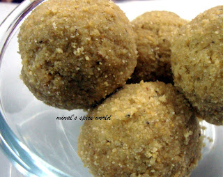 Rajasthani churma laddoo