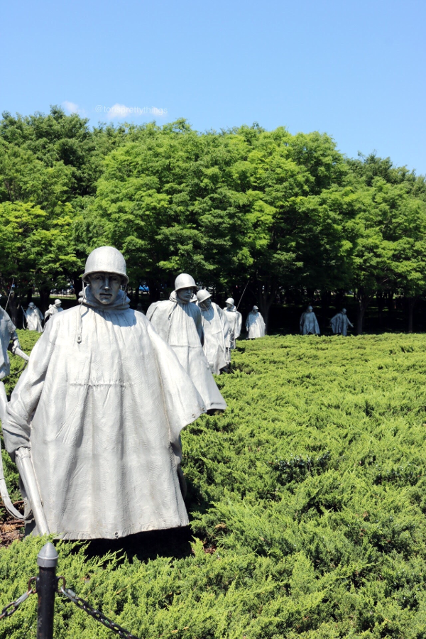 The Korean War Memorial - Washington, D.C. - Tori's Pretty Things Blog