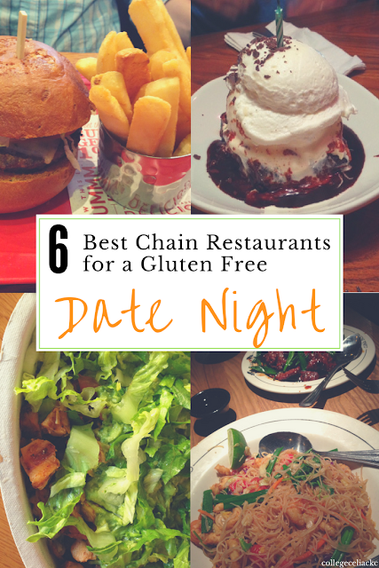 Six of the best date night restaurants when eating out gluten free