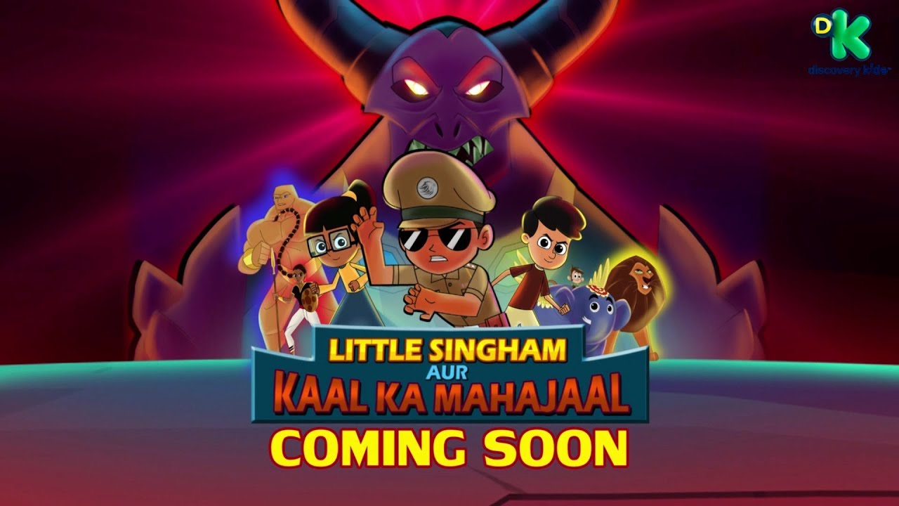 Little Singham aur Kaal ka Mahajaal (2018) Hindi Dubbed 200MB DTHRip 480p x264