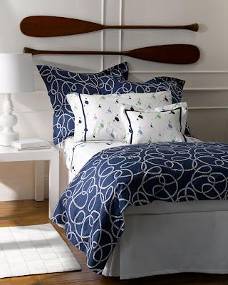 Navy Blue Nautical Bedding Lulu Dk For Matouk Sheet Envy