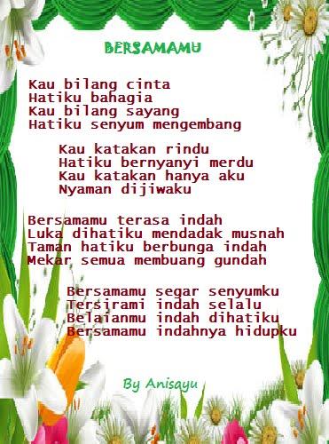 PUISI CINTA BY ANISAYU Kumpulan Puisi Cinta Romantis