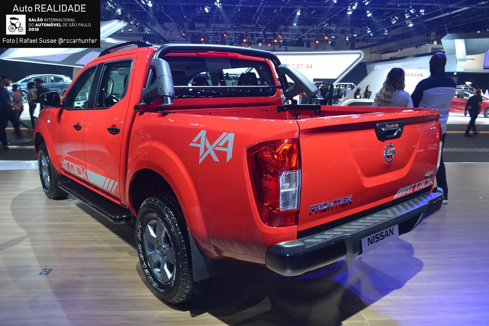 Nissan Divulga Precos Da Frontier 2019 Attack 4x4 Parte De R 153 590