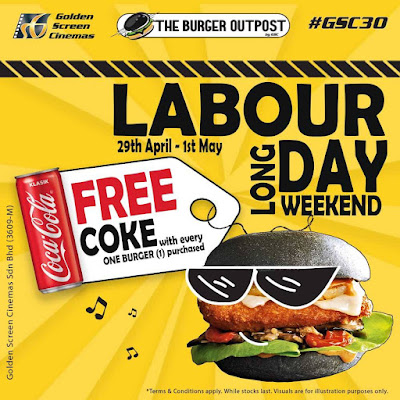 GSC The Burger Outpost Free Coke