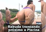 Porno Carioca – Morena gostosa transando na piscina