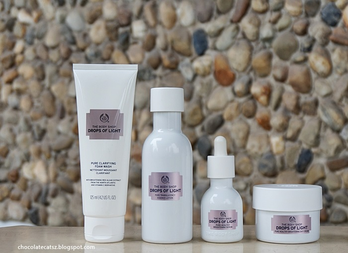 5824d44955d The Body Shop Drops of Light range is targeted to give you a brighter,  healthier, luminous and an even skin tone especially where  hyper-pigmentation is ...