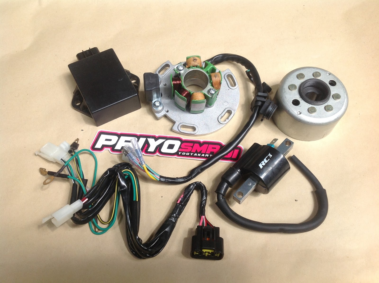 Pengapian YZ, Magnet Kits Racing YZ 125 Rc3 - priyo smr91