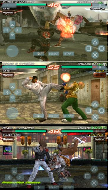 Game PSP Tekken 6 ISO/CSO High Compress