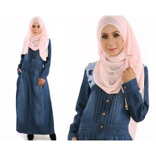 Koleksi jubah dress wanita 2017, jubah wanita, dress, baju raya 2017, koleksi baju wanita, baju muslimah,