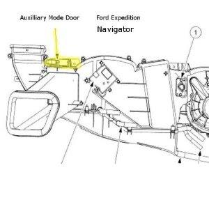 2002 Windstar Blend Door Actuator Replacement
