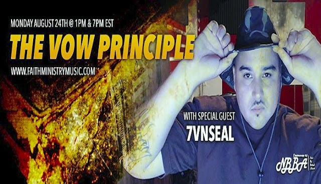 """Recording Artist """"7vnSeal"""" Chopping It Up On """"Not By Bread Alone Radio - A Powerful Christian Talk Show!"""