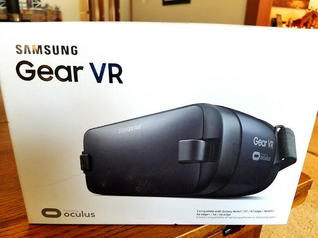 samsung gear VR oculus goggles