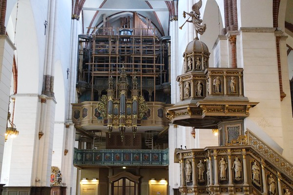 riga dome cathédrale intérieur
