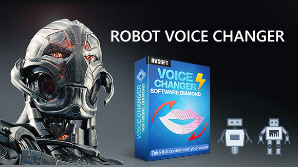Robot voice changer for funny online chat