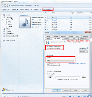 Cara Convert File CD Audio Ke MP3