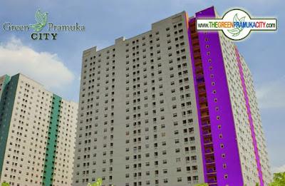 Green Pramuka City Orchid Tower