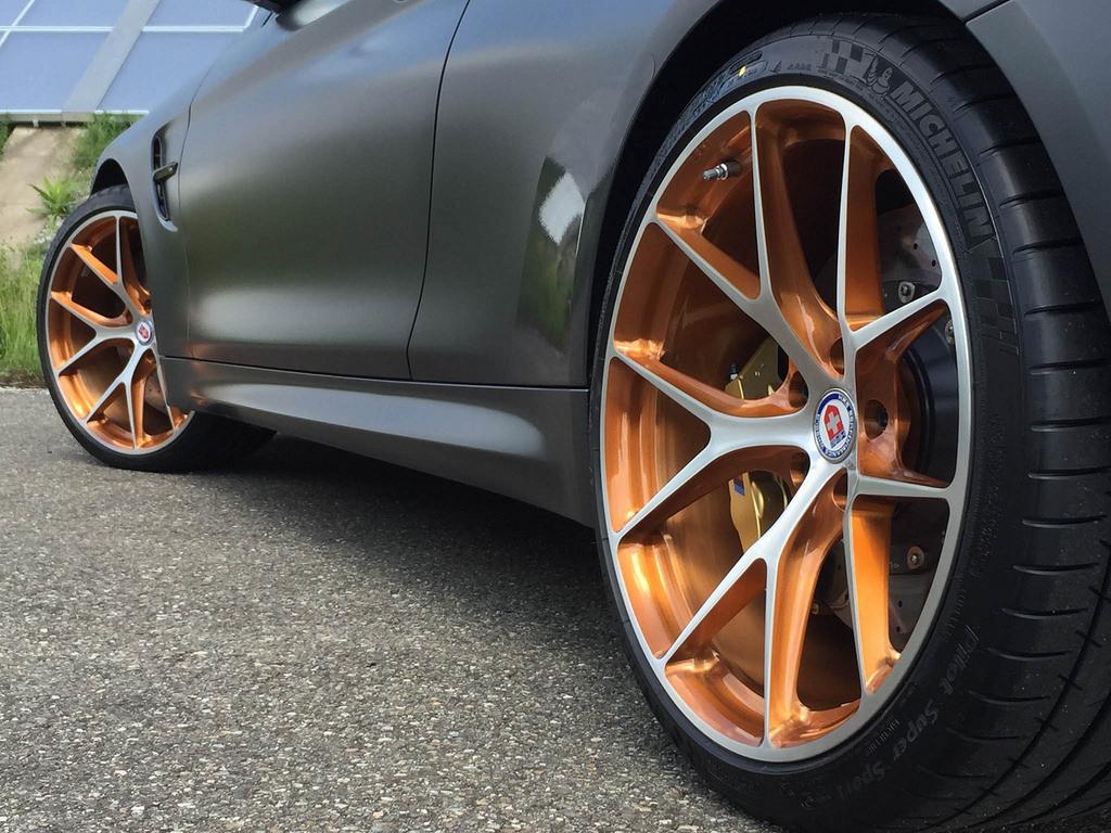 Bmw M4 Gts Gets Two Tone Hre Wheels