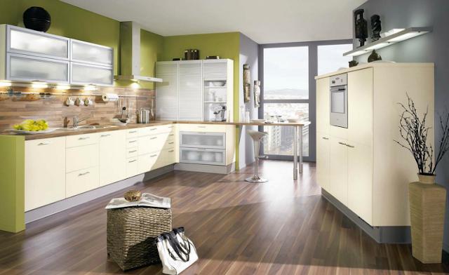 Las influyentes paredes de la cocina cocinas con estilo - Colores paredes cocina ...