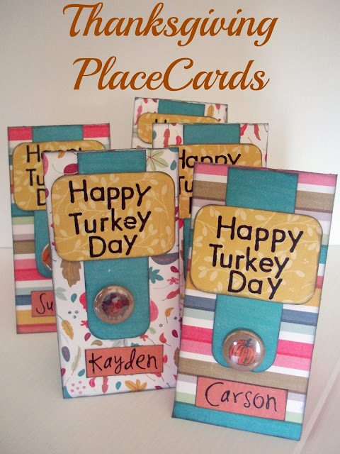 Thanksgiving PlaceCards from www.summerscraps.com