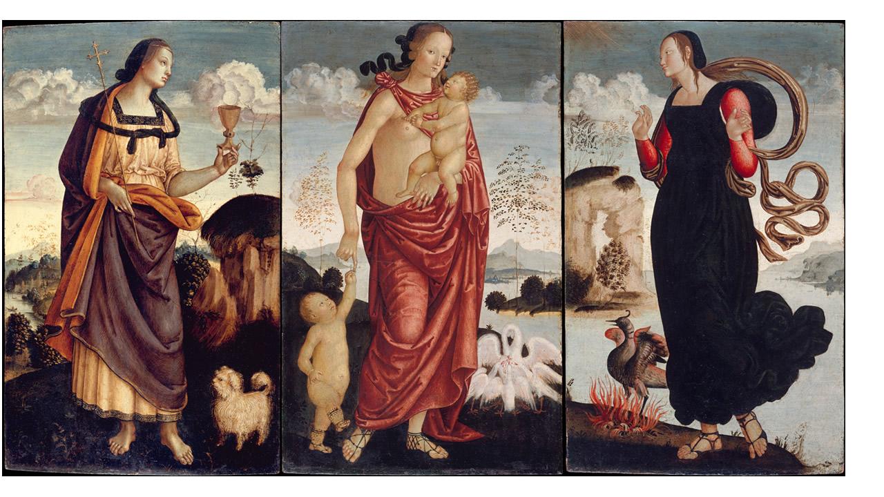 Risultati immagini per virtù fede simbolo