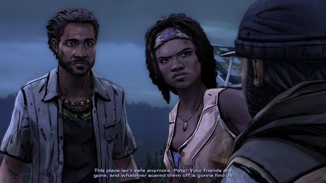 Screenshot from The Walking Dead: Michonne