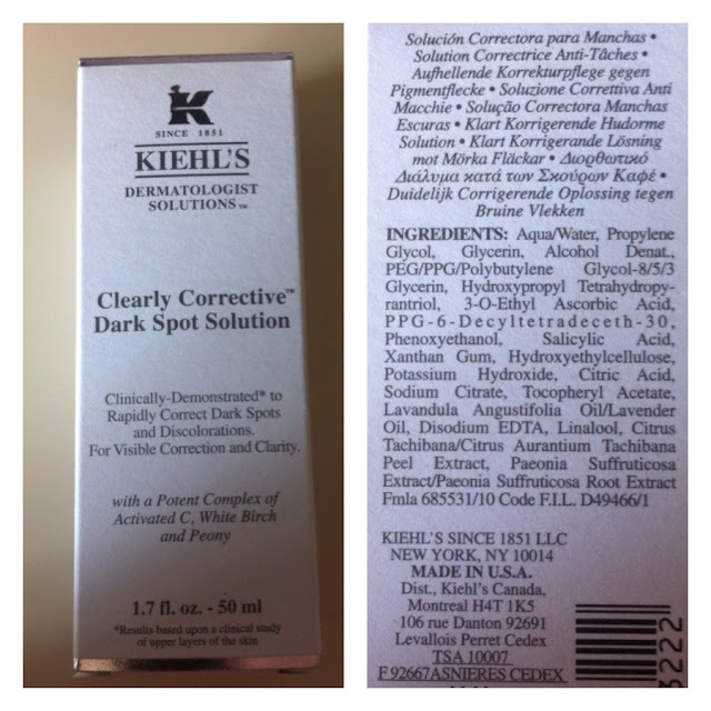 Kiehl´s, Clearly Corrective Dark Spot, despigmentante