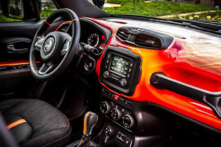Jeep Renegade Hell's Revenge (2016) Dashboard