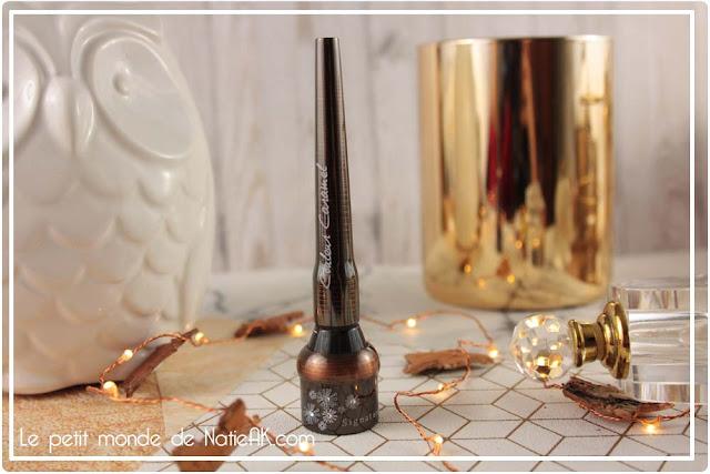 Boitier eye liner signature rechargeable  Couleur Caramel