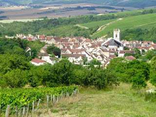 Charming Wine Village Countryside Burgundy Cote d'Or France