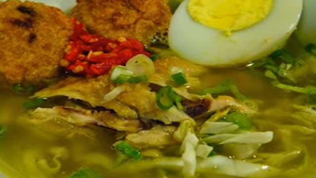 resep soto ayam kuah kuning