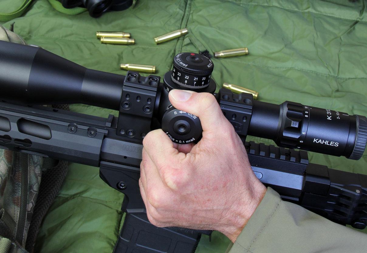Feuerkampf und taktik: zielfernrohr kahles k312i 3 12x50