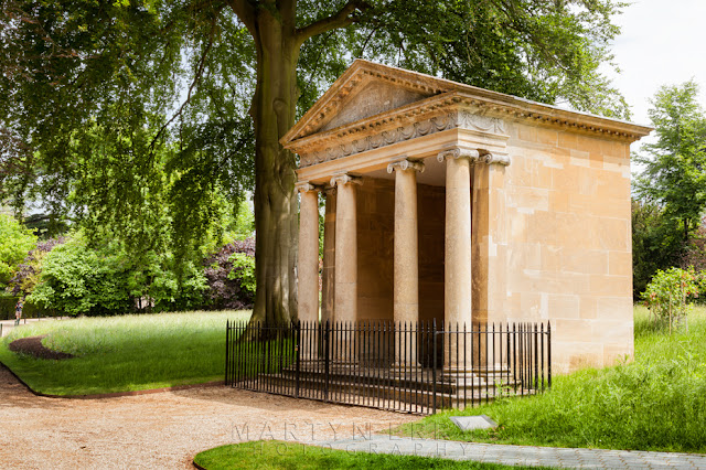 Blenheim Park is home to the Temple of Diana situated by the great lake by Martyn Ferry Photography