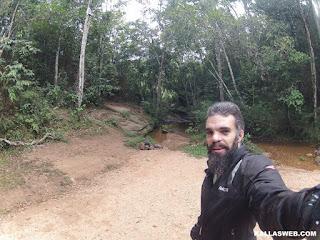 Prainha na Cachoeira do Lúcio, em Itambé do Mato Dentro/MG.