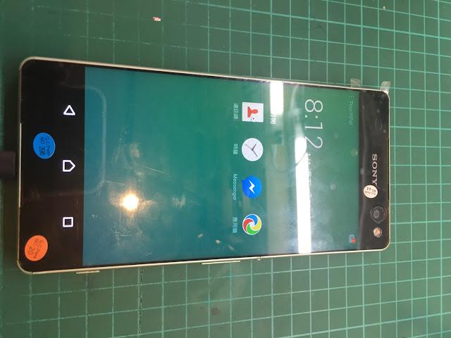 Sony C5 ultra更換螢幕