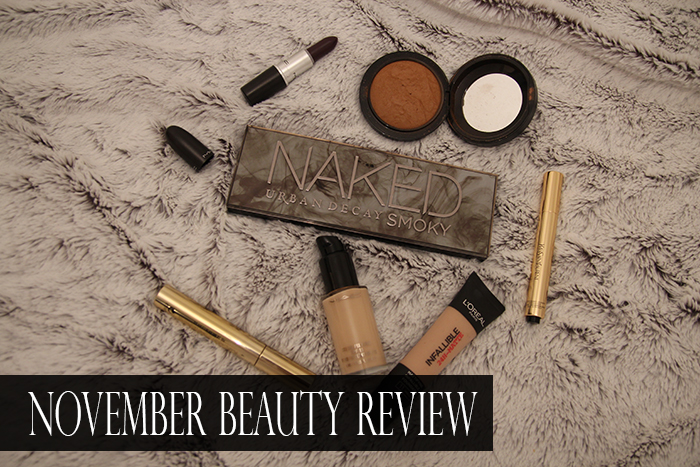 November Beauty Review