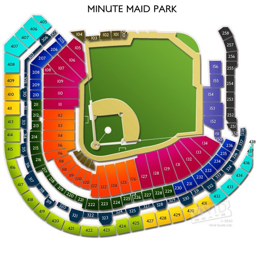 Minute Maid Park Seating Chart Interactive Seat Map Seatgeek