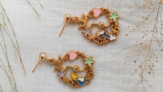 Dijual perhiasan imitasi impor unik berkualitas KWANG EARRING, Toko Online Jakarta