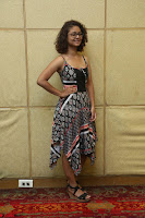 Actress Aditi Myakal Looks gorgeous in Sleeveless Deep Neck Top at Ami Tumi success meet ~  Exclusive 202.JPG